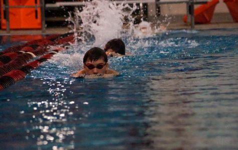 Swim team starts up season with new practices