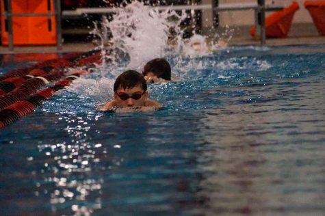 Swim team starts up season with new practices