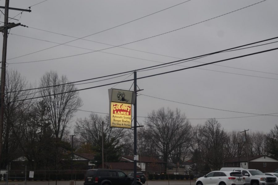 Image of the Penn Lanes sign.