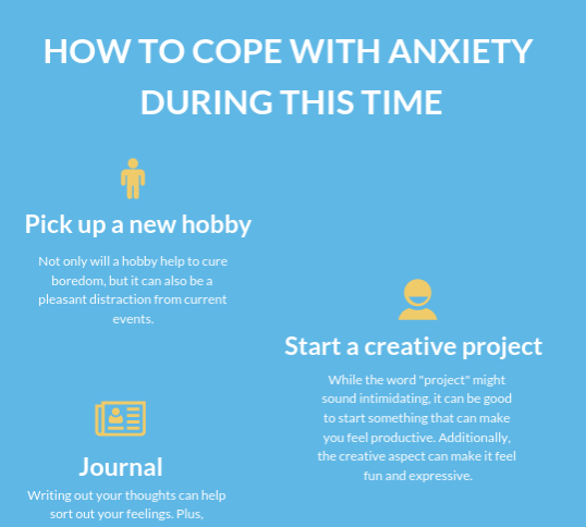 How to cope with anxiety during this time of quarantine