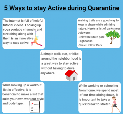5 ways to stay active during Quarantine