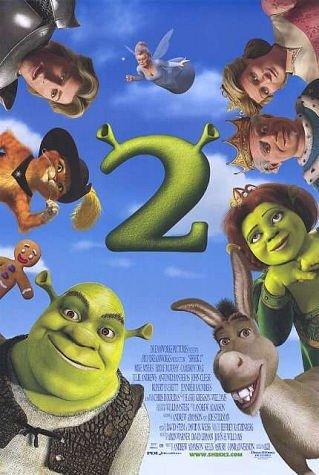 Shrek 2 movie poster.
