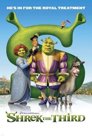 Shrek the Third movie poster.