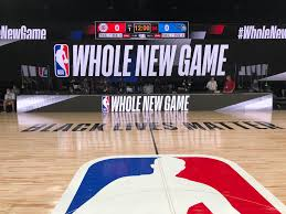 One of the courts used in the NBA Restart