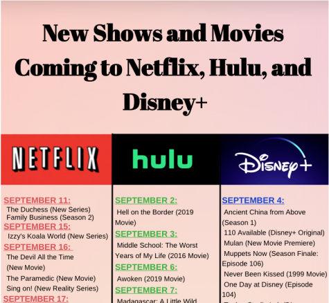 New Shows and Movies Coming to Netflix, Hulu, and Disney+