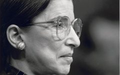 Ruth Bader Ginsburg from profile