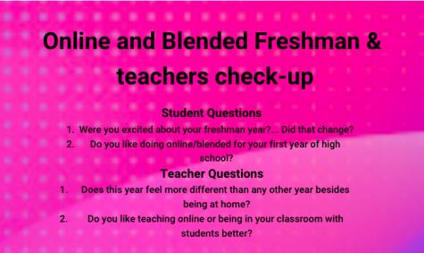 Freshman & teacher check-up