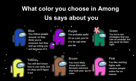 What the color you pick in Among Us says about you