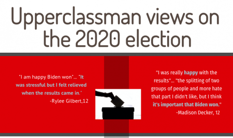 Upperclassman opinions on the 2020 election
