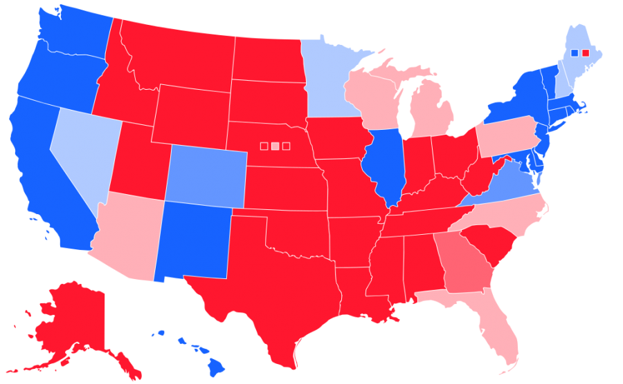 2016 election results map