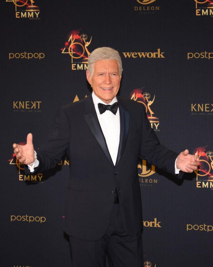Alex Trebek at 2019 Daytime Emmy Awards.