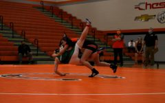 First all-girls wrestling match at Hayes