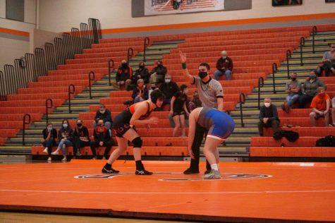 Carmen Pape wrestling