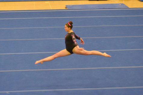 Georgia leaping