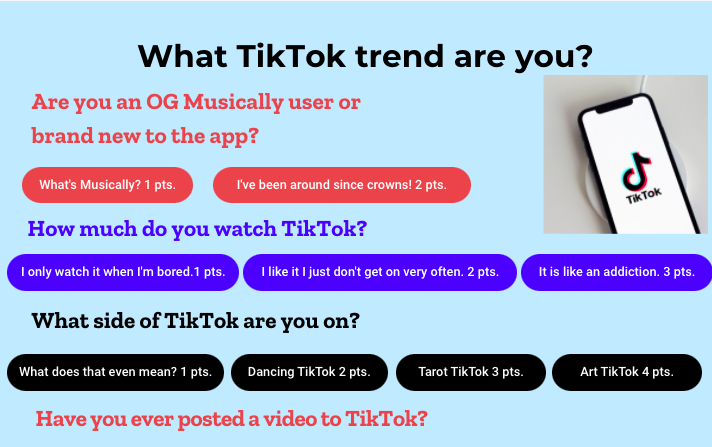 Quiz: What TikTok trend are you?