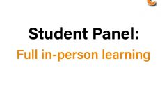 Student discussion on idea of switching to full in-person schooling