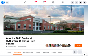 One way that parents and community members are trying to support the Class of 2021 is by creating a method for people to