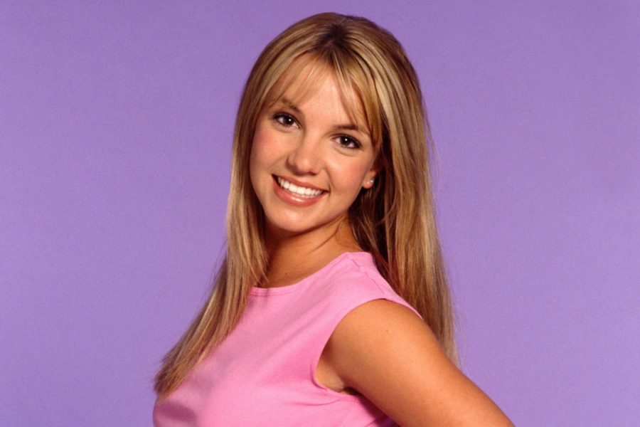 Britney Spears poses for photoshoot in 1999. Since topping charts as a 17-year-old pop sensation, Britney faced a spiral of incidents that kept the media focused on her presence.