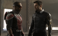 Sam Wilson and Bucky Barnes plan a covert attack in