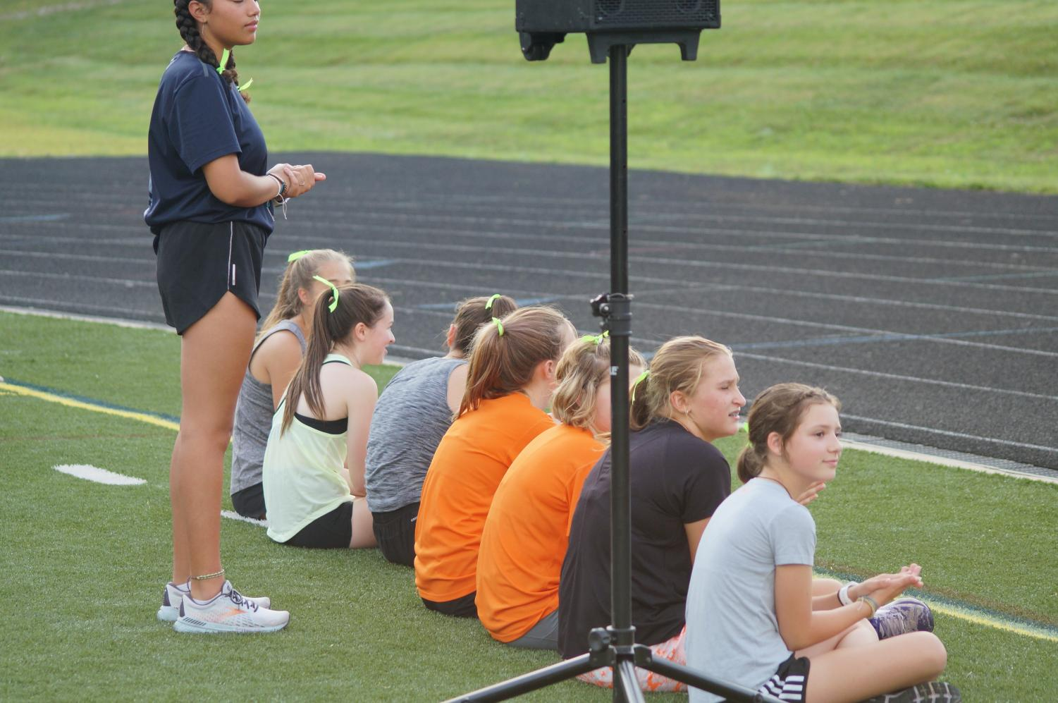 Hayes+Cross+Country+team+competes+in+time+trials