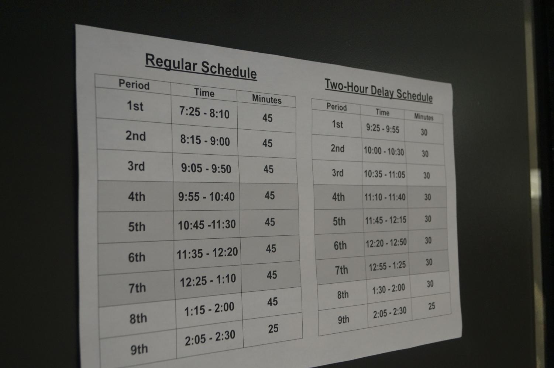 Hayes+returns+to+nine+period+schedule