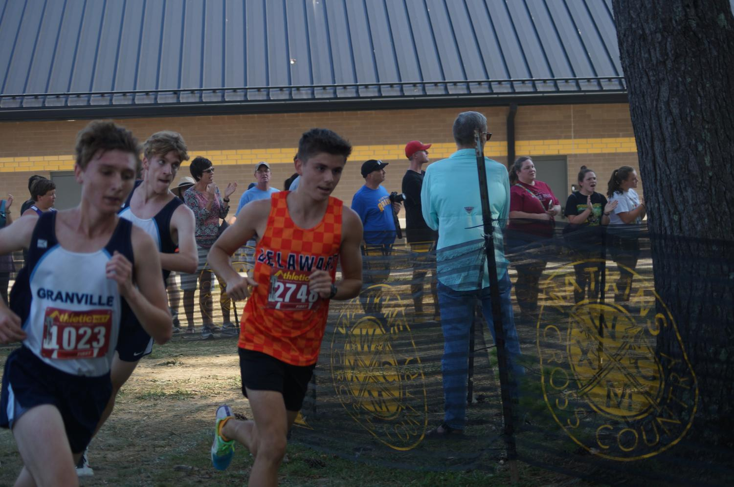 Boys+Cross+Country+team+competes+at+Watkins+Memorial+High+School