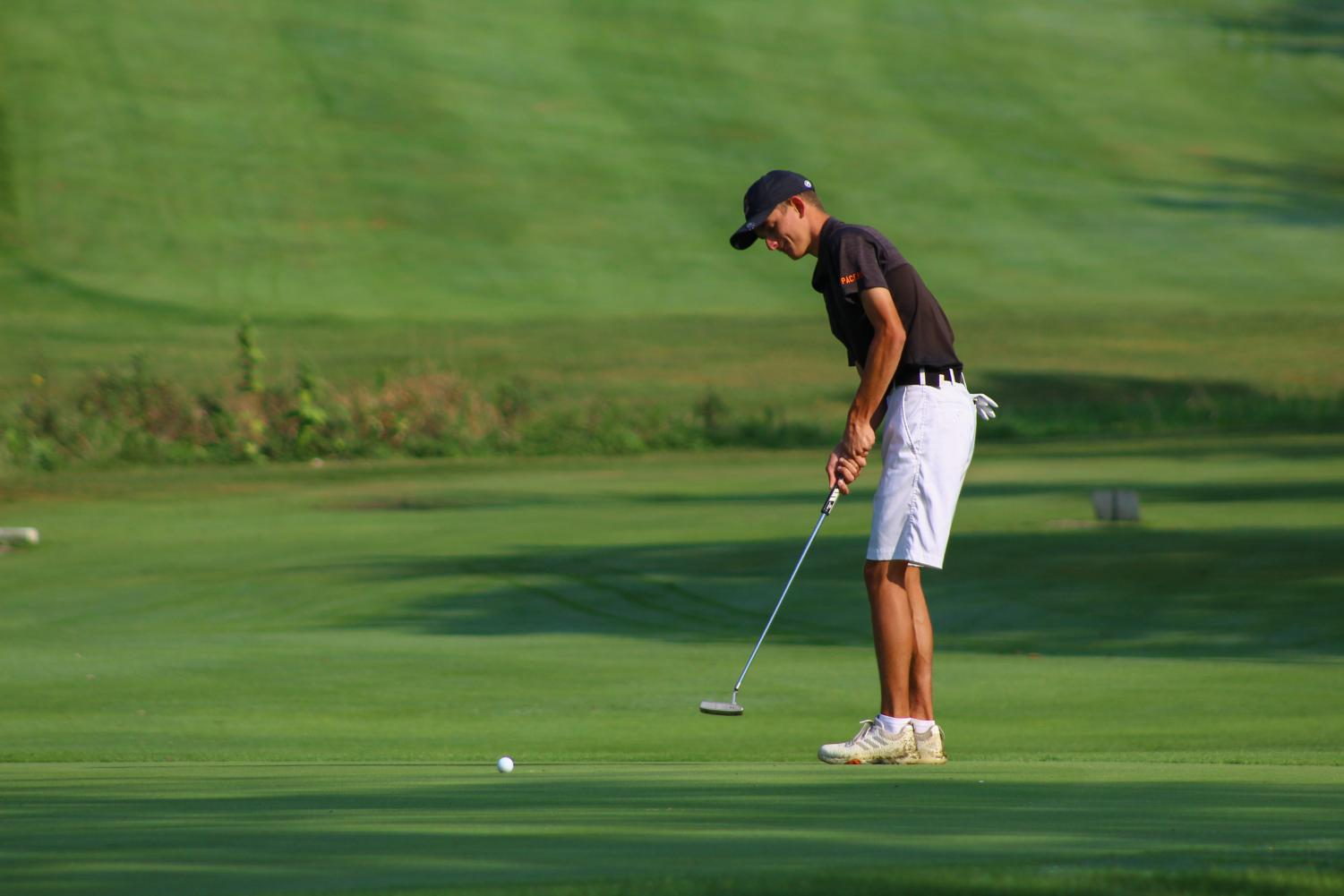 Varsity+Boys+Golf+comes+out+on+top+in+the+Marion+Harding+Invitational
