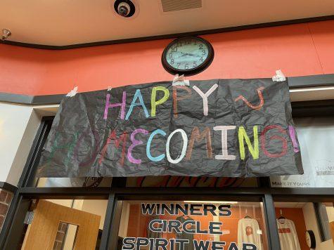 Hayes Homecoming sign